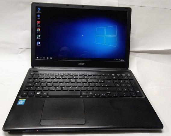 Notebook Acer Processador Intel Tela 15.6 Usado