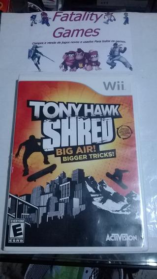 Tony Hawk Shred Big Air! Para Nintendo Wii Completo
