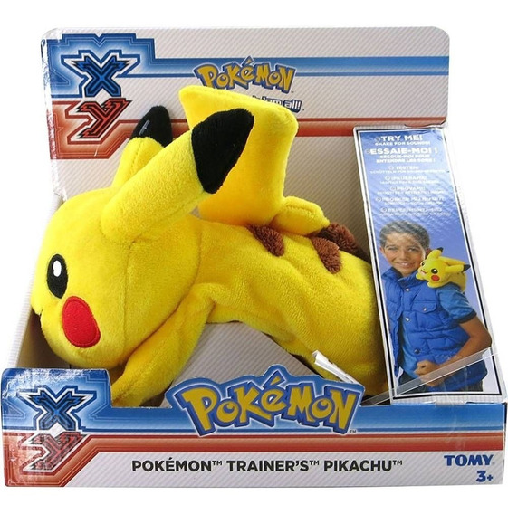 Pelúcia Interativa - Pokémon - Pikachu Para Os Ombros - Tomy