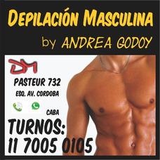 Depilación Masculina By Andrea. Masajes. Precio Y Calidad