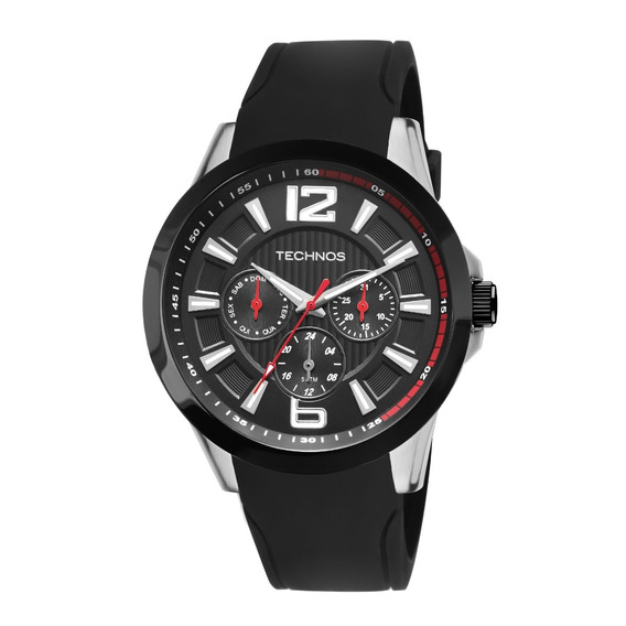 Relógio Technos Masculino Aço Performance Racer 6p29ahc-8p