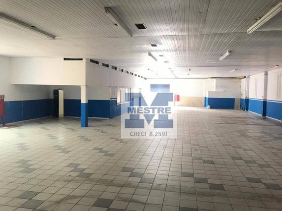 Salão Para Alugar, 1047 M² Por R$ 19.000,01/mês - Vila Galvão - Guarulhos/sp - Sl0054