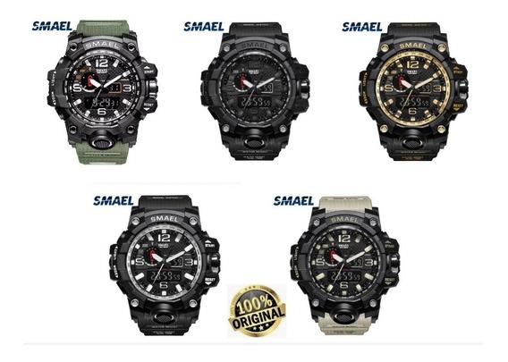 Relógio Smael Original + Caixa Tático Militar Prova D