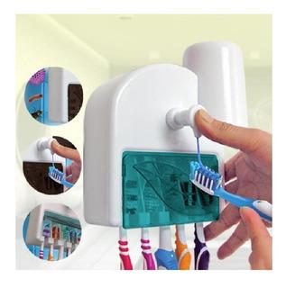 Dispensador De Crema Dental 5 Cepillos