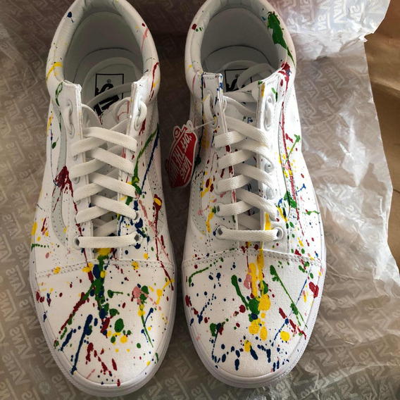 Vans Old Skool (splattered Paint) Unisex