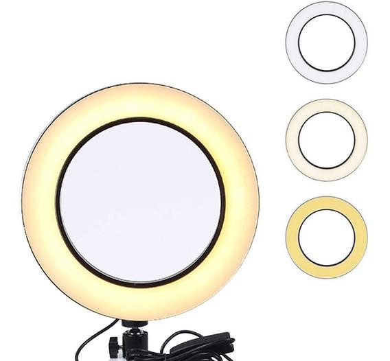 Anel Ring Light Iluminação Led Completo Blogueira C/ Tripé