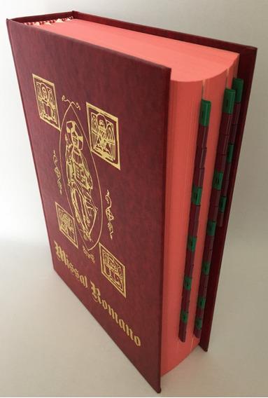 Livro Missal Romano Encadernado Liturgia Santa Missa Paulus