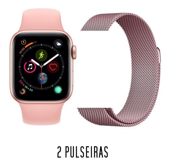 Relógio Smartwatch Iwo 8 - 2 Pulseiras