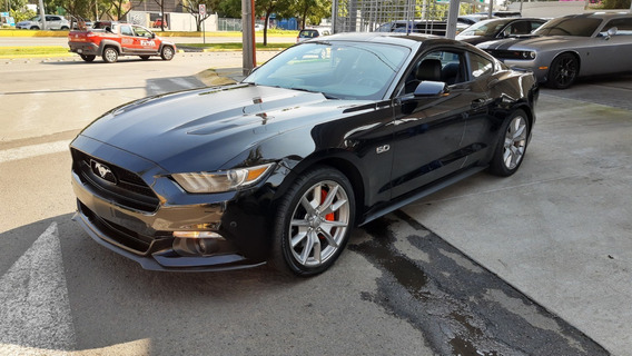 Ford Mustang 5.0l Gt V8 At Coupé 2015 Negro