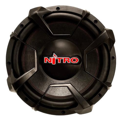 Subwoofer Spyder Nitro 15 700w Rms Doble Bobina Nuevo