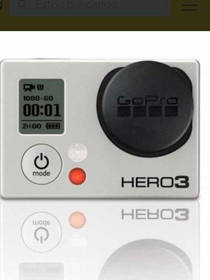 Gopro Hero 3 + Perfeito Estado Pouco Usada, Diversos Itens
