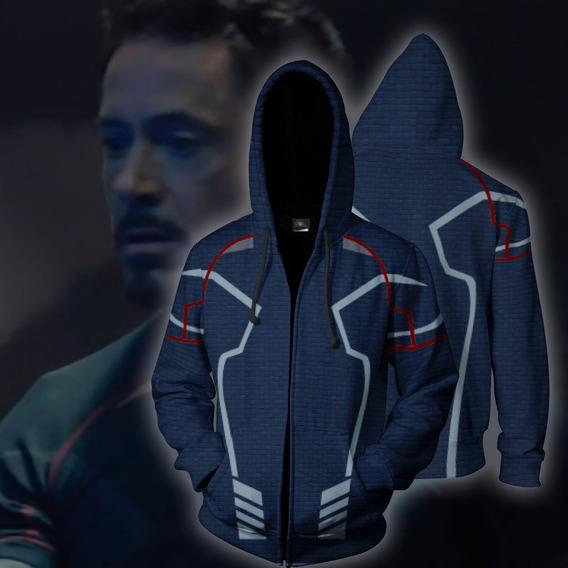 Avengers Endgame Chaqueta Iron Man Tony Stark Sudaderas