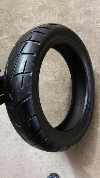 Pneu Traseiro Riscado Pirelli + Largo Cb300 Twister Fazer