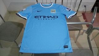 Camisa Oficial Nike Futebol Time Manchester City Inglaterra