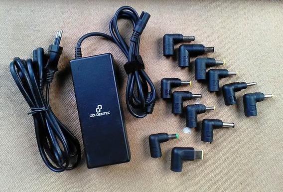 Fonte Carregador Universal Para Notebooks Goldentec Gt800