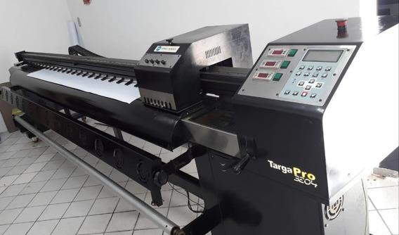 Impressora Ampla Targa Pro 3204, 04 Cabeças Konica Km512 Lh