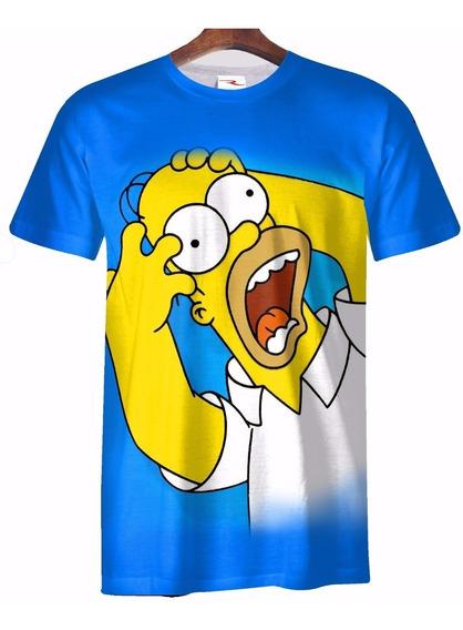 Remera Los Simpson Homero Ranwey Pr045