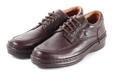Zapatos De Cuero Vacuno Ringo Flex 3696 Marrón