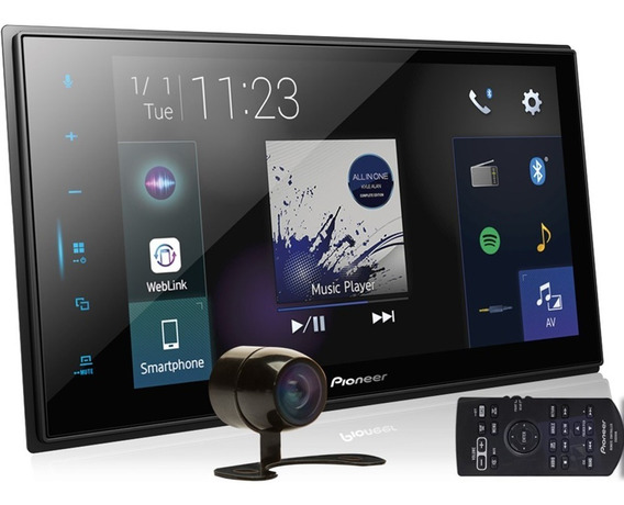 Multimídia Dmh-zs8280tv Pioneer Tv Android Ios + Câmera