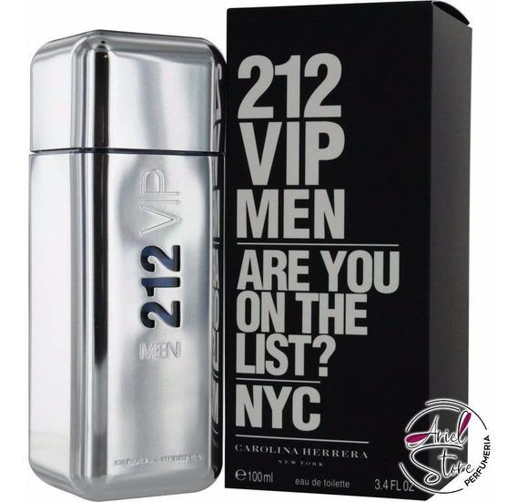 Perfume Carolina Herrera 212 Vip Men 100 Ml