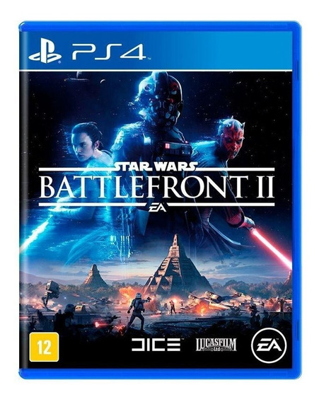 Star Wars Battlefront Ii 2 Ps4 Mídia Física