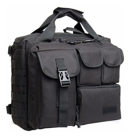 Morral Táctico Militar Eagle Claw Tac Briefcase