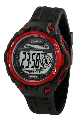 Relógio X-games Vermelho Digital Xmppd568 Bxpx