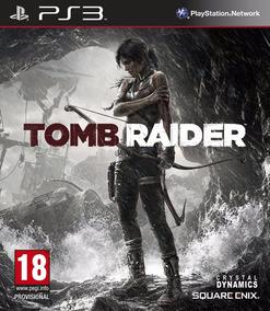 Jogo Tomb Raider Ps3 Playstation Mídia Física Leg Português