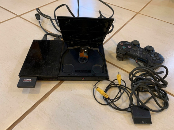Sony Playstation 2 Scph-90010, 1 Cont., 8mb Card, Desbl. Ok