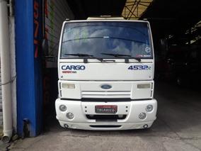 Caminhao Ford Cargo 4532 Ano 2011/11 Branco Nova