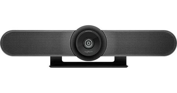 Câmera Webcam Logitech Meet Up 960-001101 Preta S Acessórios