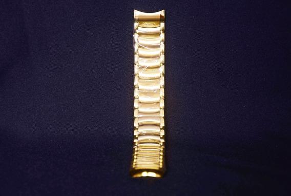 Pulseira Bvulgari De Aço Dourada