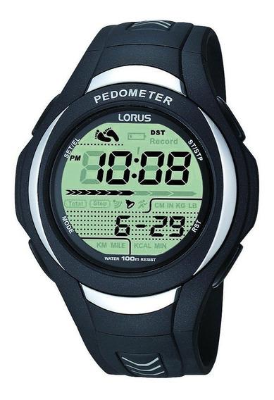 Reloj Lorus R2393gx9 Para Caballero Correa De Caucho