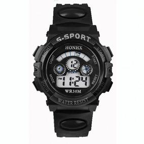 Relógio Masculino Esportivo Pulseira Silicone Digital