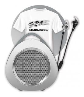 Kit Monster Auricular Parlante Bluetooth Remera Dybala Nfc