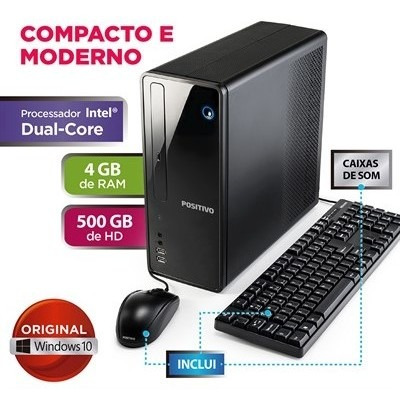 Computador Positivo Stilo Ds3550 Celeron 4gb 500gb Windows 1