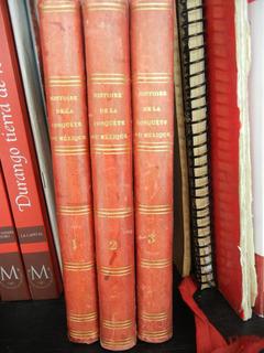 3.- Libros Prescott 1846 Historia Conquista Mexico, Grabados