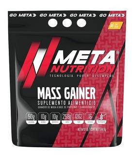 Gainer Meta Nutrition Mass Gainer 12 Lbs Todos Los Sabores!