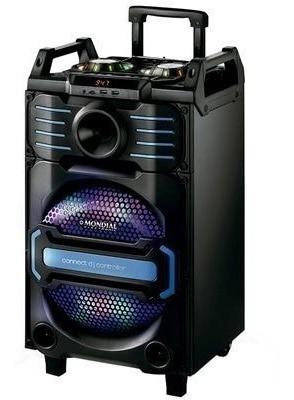 Caixa Amplificada Potência 240w Rms Entrada P10 P2 Bluetooth