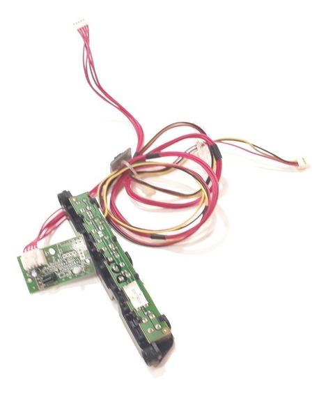 Sensor E Teclado Tv H-buster Hbtv-3203hd Original Testado