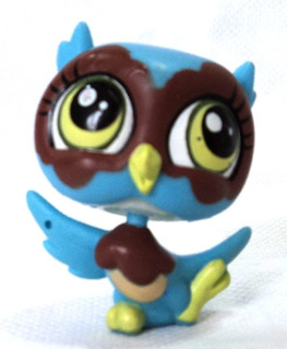 Littlest Pet Shop Original Luchuza Buho Hasbro Coleccion