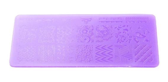 Thuya Placa Chica Stamping Decoración Uñas Nail Art