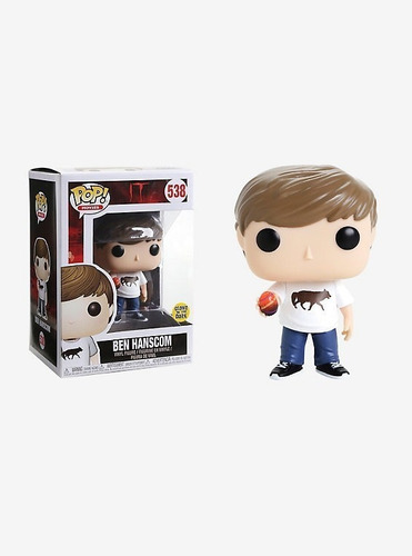 Funko Pop! It Ben Hanscom #538 Glows In The Dark