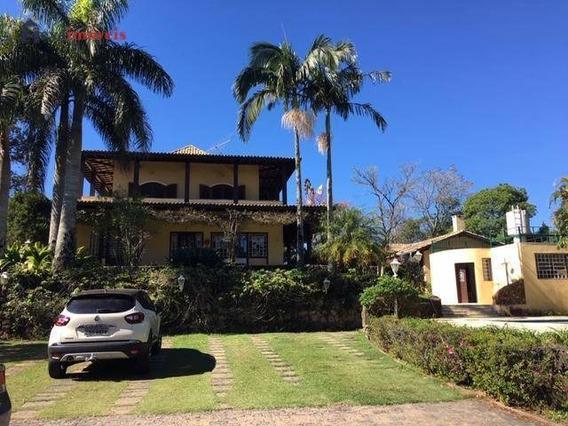 Chácara Com 4 Dormitórios À Venda, 4300 M² Por R$ 3.000.000 - Chácaras Boa Vista - Santana De Parnaíba/sp - Ch0010