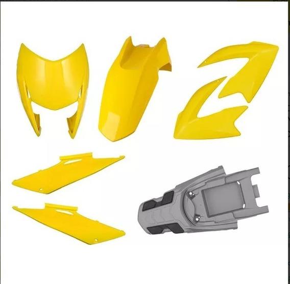 Kit Plasticos Completo Honda Nxr Bros 2009 À 2011 Pro Tork