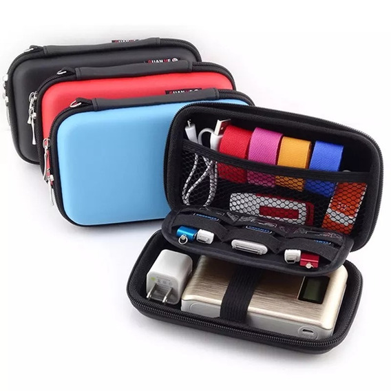 Bag Bolsa Mini Pochet Caso Portatil Fone Cabos Vaporizador