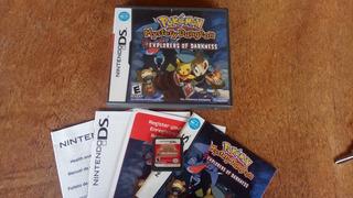 Pokemon Mystery Dungeon Explorers Of Darkness - Nintendo Ds
