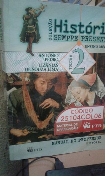 Livro História Coleção Sempre Presente Antônio Pedro 2