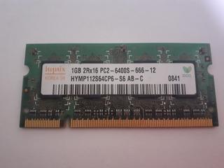 Memoria 1 Gb Hymp112s64cp6-s6 Hunix Dl 76