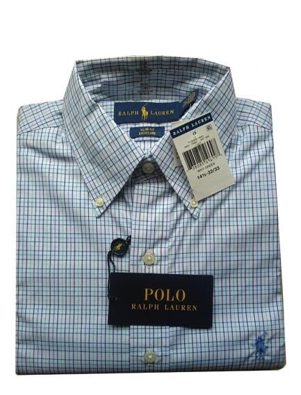 Camisas Originales Polo Ralph Talla S Y S Slim Fit Scalia